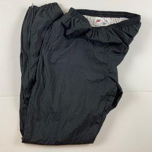 Nike Men's VTG Nylon Track Pants 90's Jogger Large